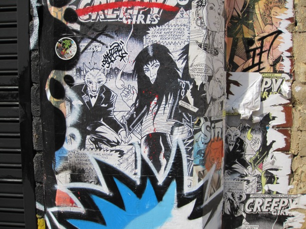 street art in brick lane - genevieve blog