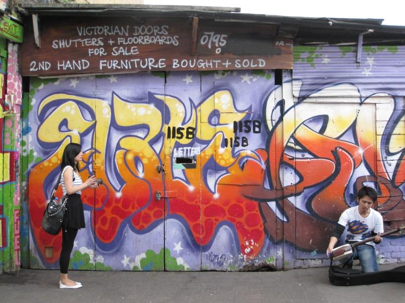 brick lane street art - genevieve blog
